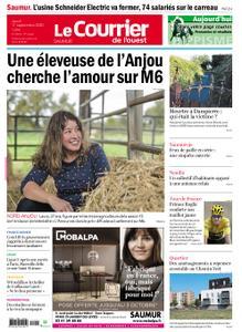 Le Courrier de l'Ouest Saumur – 17 septembre 2020