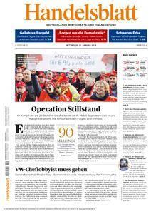 Handelsblatt - 31. Januar 2018