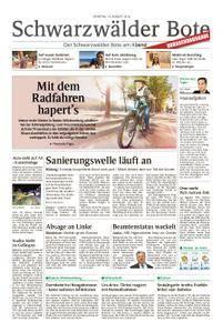Schwarzwälder Bote Hechingen - 14. August 2018