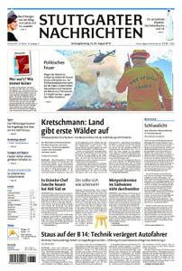 Stuttgarter Nachrichten Stadtausgabe (Lokalteil Stuttgart Innenstadt) - 24. August 2019