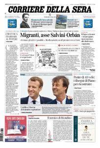 Corriere della Sera – August 29, 2018
