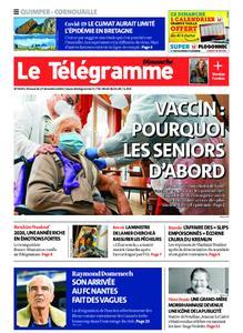 Le Télégramme Ouest Cornouaille – 27 décembre 2020