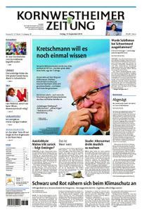 Kornwestheimer Zeitung - 13. September 2019