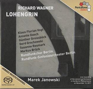 Wagner - RSO Berlin / Marek Janowski - Lohengrin (2012, Pentatone # PTC 5186 403) {3x Hybrid-SACD // EAC Rip} [RE-UP]