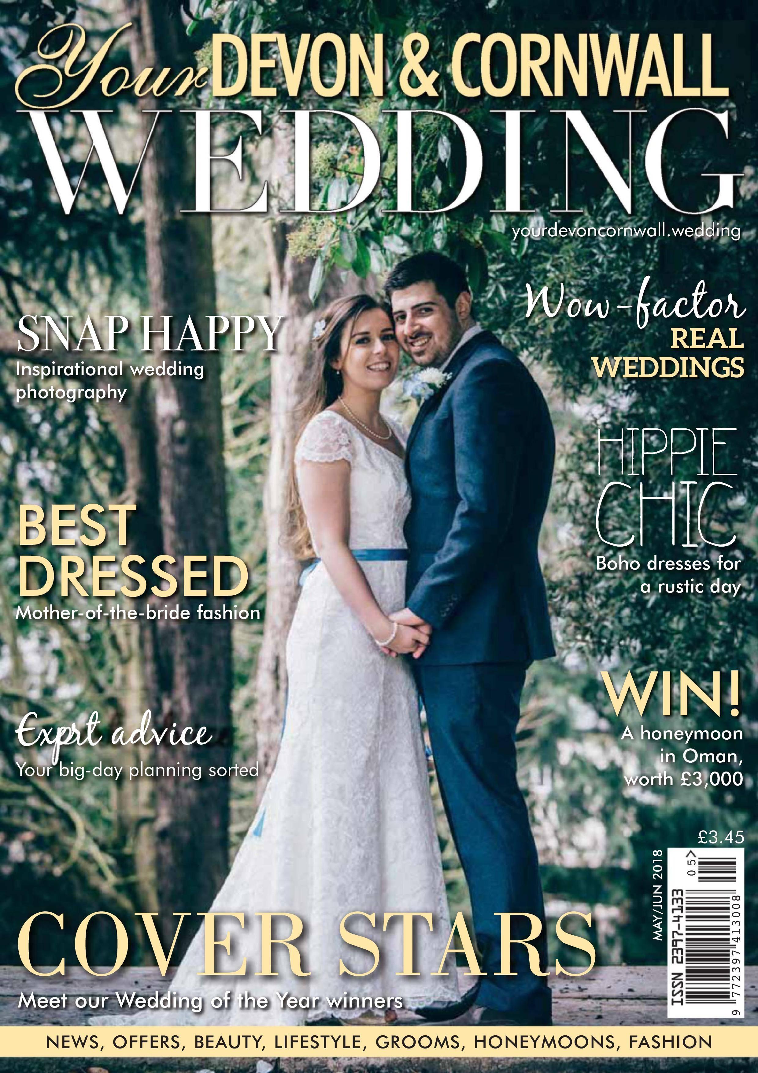 Your Devon & Cornwall Wedding - April 27, 2018
