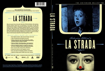 La Strada (1954) [The Criterion Collection #219] [OUT OF PRINT]