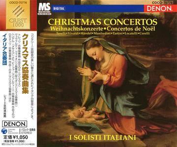 I Solisti Italiani - Christmas Concertos: Torelli, Vivaldi, Handel, Manfredini, Tartini, Locatelli, Corelli (1993) [Re-Up]