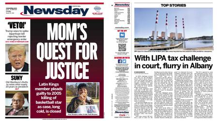 Newsday – March 15, 2019