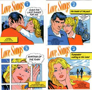 VA - Love Songs Volumes 1-4 (4CD) (1989) {Object Enterprises}