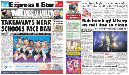 Express and Star City Edition – October 13, 2017