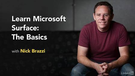 Lynda - Learn Microsoft Surface: The Basics (updated Jan 20, 2017)