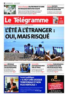 Le Télégramme Auray – 26 mai 2020
