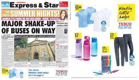 Express and Star Sandwell Edition – August 16, 2018