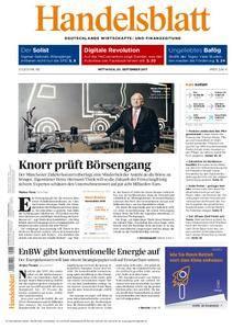 Handelsblatt - 20. September 2017