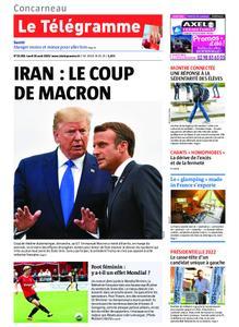 Le Télégramme Concarneau – 26 août 2019
