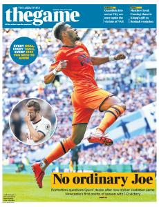 The Times - The Game - 26 August 2019