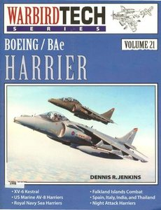 Boeing/BAe Harrier (Warbird Tech Series Volume 21) (Repost)