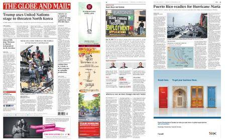 The Globe and Mail – September 20, 2017