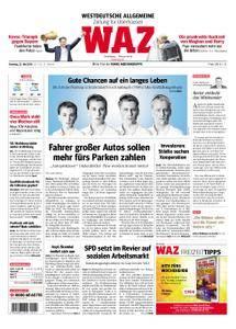 WAZ Westdeutsche Allgemeine Zeitung Oberhausen-Sterkrade - 22. Mai 2018