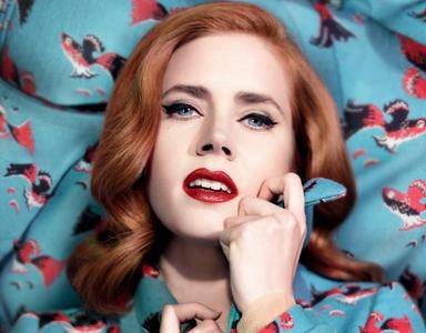 Amy Adams by Mathieu Cesar for L'Officiel February 2014