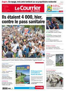 Le Courrier de l'Ouest Angers – 01 août 2021