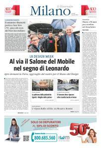 il Giornale Milano - 8 Aprile 2019