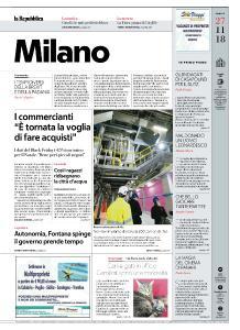 la Repubblica Milano - 27 Novembre 2018