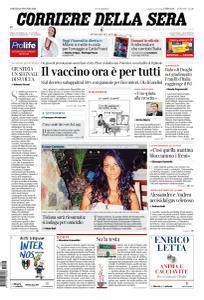 Corriere della Sera - 29 Maggio 2021