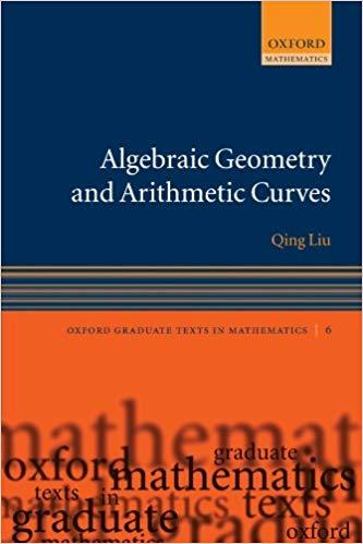 Algebraic Geometry and Arithmetic Curves (Repost)