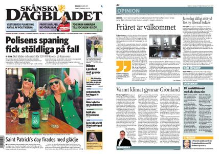 Skånska Dagbladet – 18 mars 2019