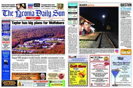 The Laconia Daily Sun – September 17, 2019