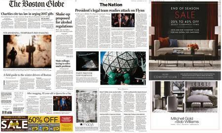 The Boston Globe – December 28, 2017