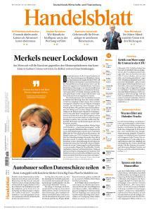 Handelsblatt - 28 Oktober 2020