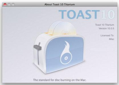 Roxio Toast Titanium 10.0.5 (incl. HD & BD Plugins) MacOSX (2009)