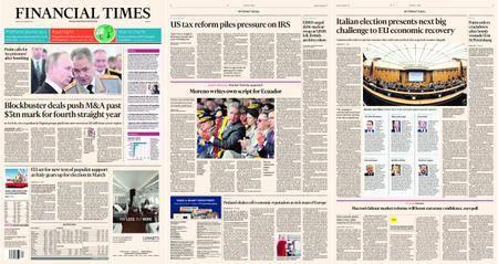Financial Times Europe – 29 December 2017