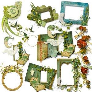 Vignettes and elements set #2