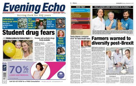 Evening Echo – September 23, 2017