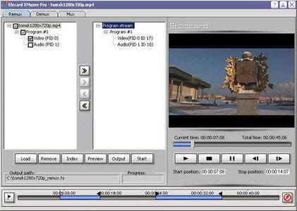Elecard XMuxer Pro 2.5.71019