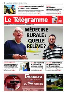 Le Télégramme Landerneau - Lesneven – 10 mars 2021