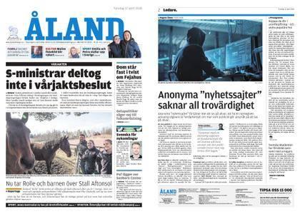 Ålandstidningen – 12 april 2018