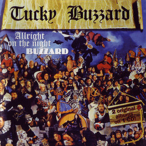 Tucky Buzzard - Allright On The Night (1973) + Buzzard (1973) [2LP in 1CD, 1996]