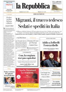la Repubblica – 16 giugno 2019