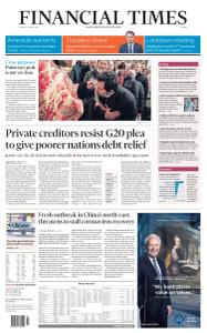 Financial Times Europe - April 20, 2020