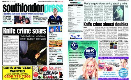 South London Press – August 31, 2018