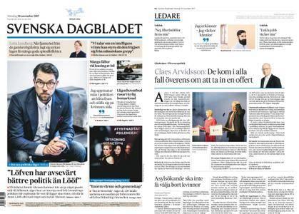 Svenska Dagbladet – 20 november 2017