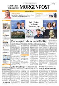 Solinger Morgenpost – 30. Dezember 2019