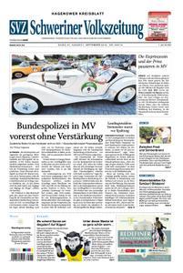 Schweriner Volkszeitung Hagenower Kreisblatt - 31. August 2019