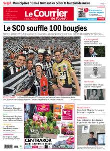 Le Courrier de l'Ouest Nord Anjou – 10 octobre 2019