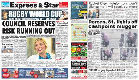 Express and Star Dudley and Wyre Forest Edition – September 20, 2019