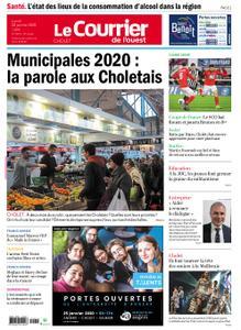 Le Courrier de l'Ouest Cholet – 20 janvier 2020